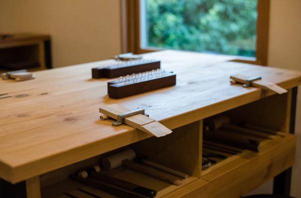 鎌倉彫金工房様の店舗リニューアル